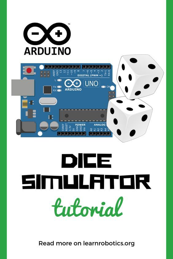 Cool Arduino Projects Arduino Dice Simulation